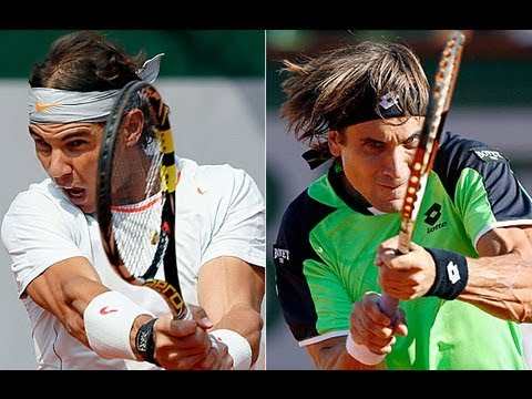 Rafael Nadal vs David Ferrer Final Highlights+Trophy Ceremony - French Open 2013