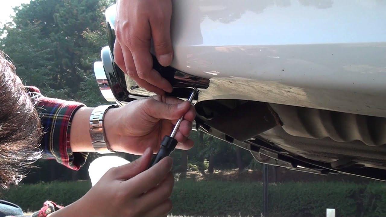 Hyundai Sonata Rear Diffuser 2013 Style Youtube