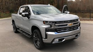 2019 Chevrolet Silverado LTZ Walkaround Review and Features