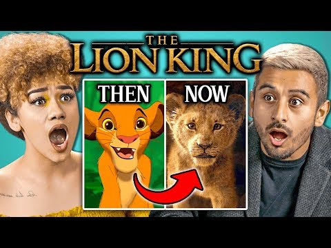 College Kids React To New Lion King Trailer (Disney)