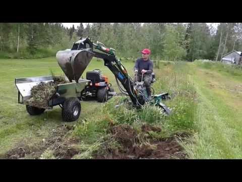 Mini kaivuri Kellfri, mini excavator, minibagger