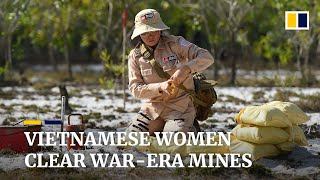 Vietnam's all-women mine clearance teams work to remove legacy of war