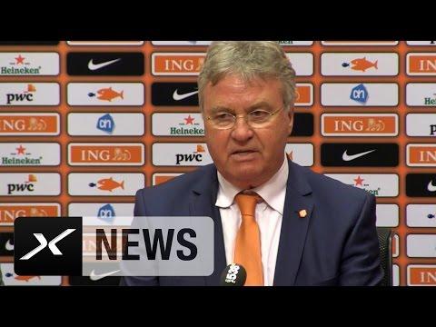 Bondscoach Guus Hiddink schwärmt von Manchester Uniteds Daley Blind | Niederlande - Spanien 2:0