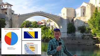 Visit to Mostar, Bosnia, May 2017