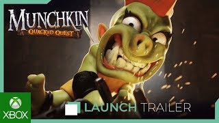 Munchkin : Quacked Quest - Launch Trailer