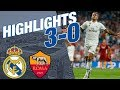 Real Madrid Vs Roma | 3   0 | ALL GOALS & HIGHLIGHTS