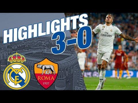 Real Madrid vs Roma | 3 - 0 | ALL GOALS & HIGHLIGHTS