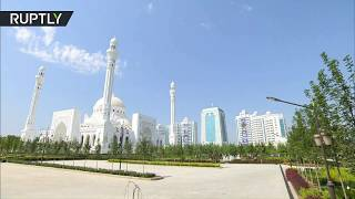 Europe's largest mosque opens in Chechnya
