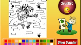 Spiderman Coloring Pages For Kids - Spiderman Coloring Pages