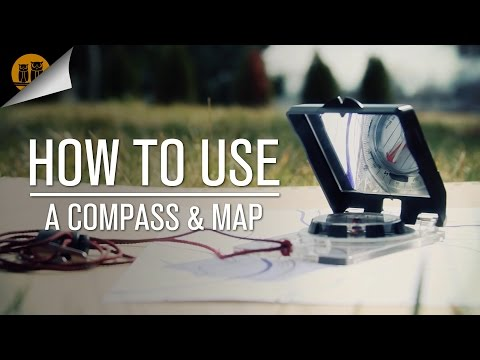 How to Use a Compass & Map [Compass Navigation Tutorial]