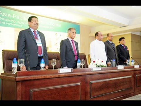 Asia Pacific Business Forum 2014 at Colombo, Sri Lanka