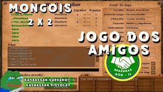 Age Of Empires 2 - Jogo dos amigos 2 x 2 Green Arabia - AoE2 PT-BR