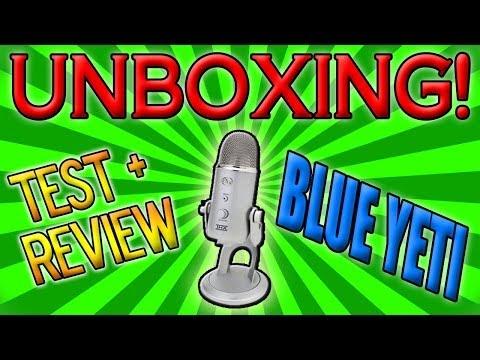 UNBOXING    MICROFONO BLUE YETI    PRUEBA DE AUDIO + REVIEW EN ESPAÑOL    By: CODFURIA