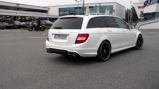 Mercedes C63 AMG T-Modell lovely sound HD