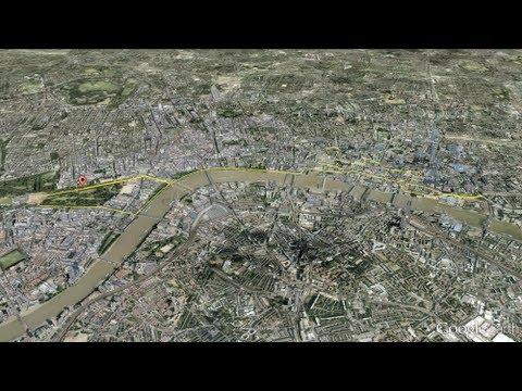 Marathon Race Route - 2012 Olympic Games