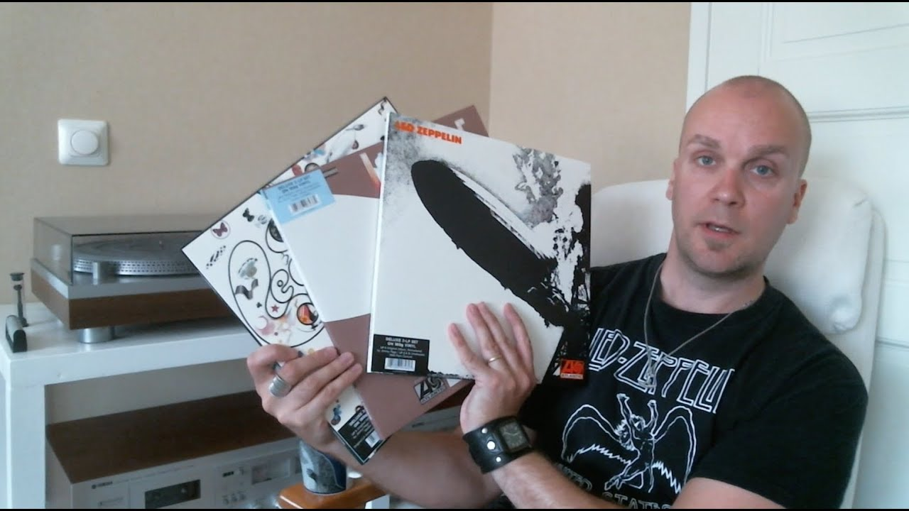 Unboxing The Led Zeppelin Deluxe Edition Remastered Vinyl