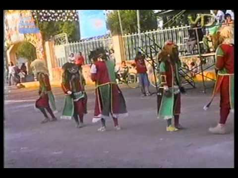 Danza de los Alchileos, San Francisco Mazapa, Mex. 30  de Mayo de 2010.