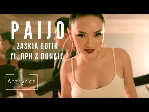 PAIJO LIRIK + INDO & ENGLISH SUBTITLE | ZASKIA GOTIK Ft. RPH & DONALL (Terjemahan Indonesia & Eng)
