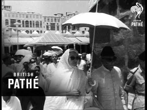 Islam Pilgrims Meet At Mecca (1954)