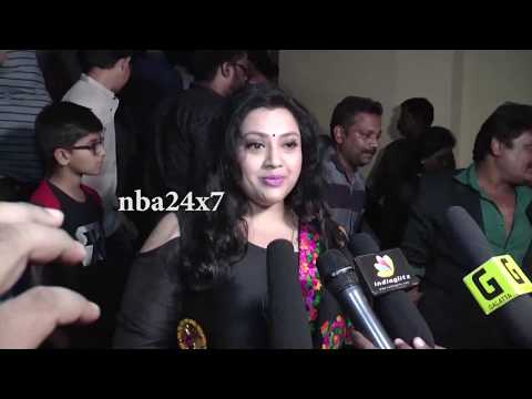 Gulaebaghavali Celebrity Shown | Prabhu Deva , Hansika Motwani,Revathi,Anandaraj,Yogibabu | nba 24x7