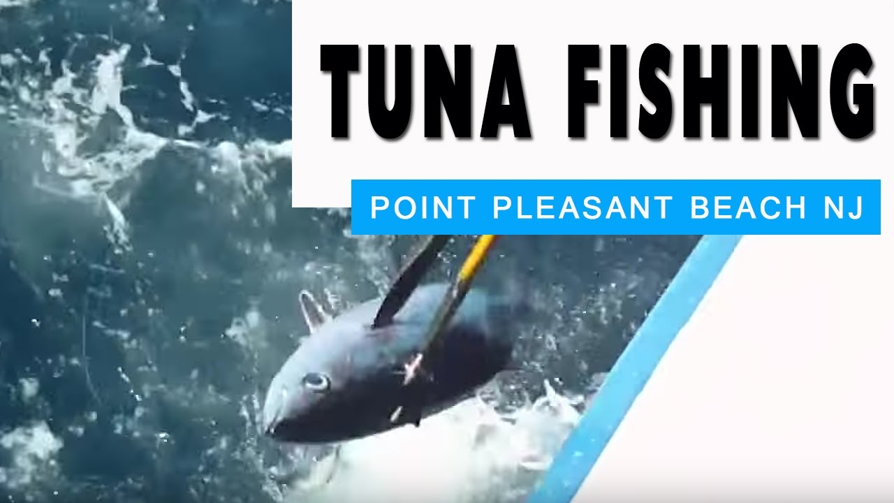 Tuna Fishing on The Voyager Point Pleasant Beach NJ