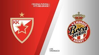 Crvena Zvezda mts Belgrade - AS Monaco Highlights | 7DAYS EuroCup, RS Round 7