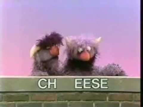 Classic Sesame Street - Two-Headed Monster (Cheese)
