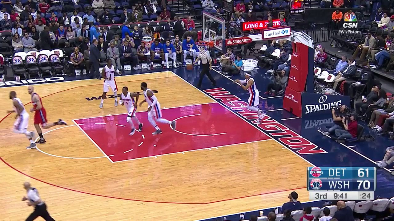 John Wall Drops 29 Points and 11 Assists to lead Wizards past Pistons   12.16.16