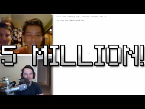 5 Million Subscriber Omegle Celebration! video