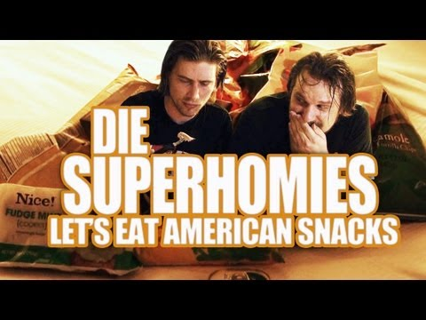 Die Superhomies in den USA - Let's Eat American Snacks (mit Gronkh und Sarazar) Music Videos
