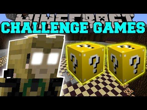 Minecraft: LOKI CHALLENGE GAMES - Lucky Block Mod - Modded Mini-Game