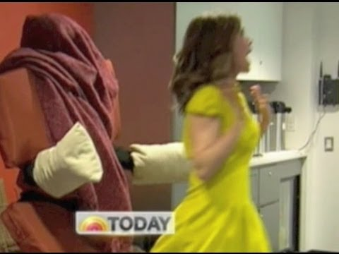 Chair Scare Prank on Today Show + Tricks