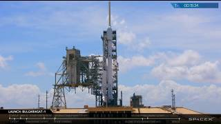 BulgariaSat-1 Launch Webcast by : SpaceX