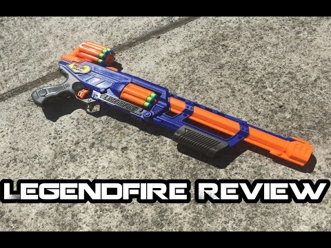 Dart Zone LEGENDFIRE Review - Pump-action Revolving Rifle