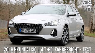 2018 Hyundai i30 1.4 T-GDI Fahrbericht Test Review Kofferraum Check Voice over Cars Meinung