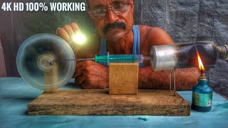 #free-energy  Steam engine || how to make || at your home ||