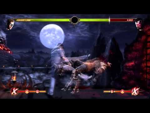 MK9 JOHNNY CAGE COMBO VIDEO TRIBUTE BY TONY-T & Beginner0k_TwM