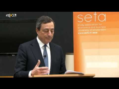 Speech Mario Draghi (ECB) at University of Amsterdam