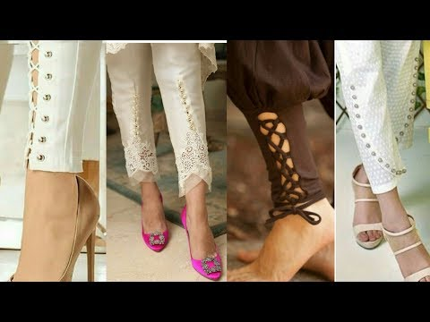 Latest Trendy Stylish Trousers Design Collection 2018