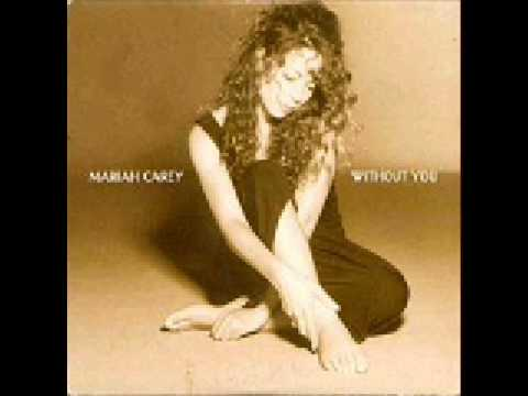 Without You - Mariah Carey - KaraokeInstrumental - w-  lyrics...