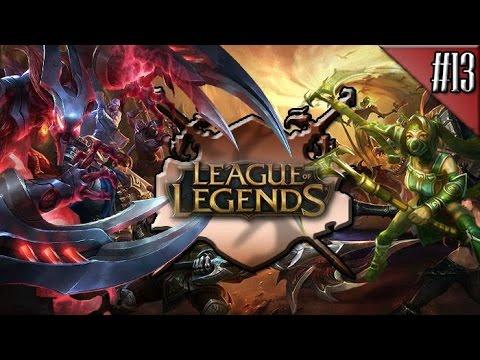 League Of Legends : Türkiye Sunucusu / Normal Maç #13 - Alt Koridor Nunu!
