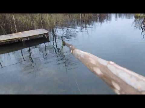 Рыбацкая приспособа, для срезания  травы( тростника) в воде .