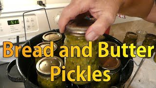 Bread and Butter Pickles Made Yummy and Easy