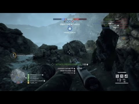 Battlefield 1 / 1st Game on Caporetto / 7 Captures / 1st Place in a Loss!