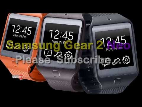Samsung Gear 2 and Gear 2 Neo SmartWatch: Specs, Pics 2014