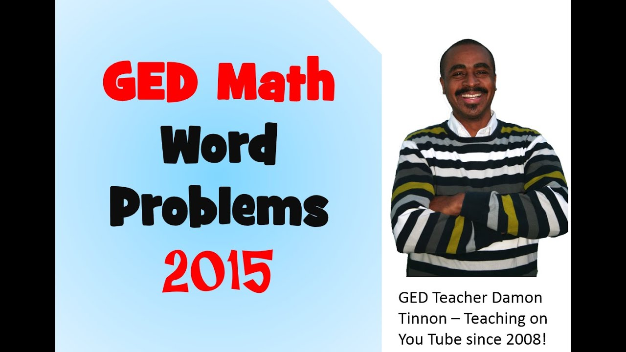 Ged math practice test free 2015