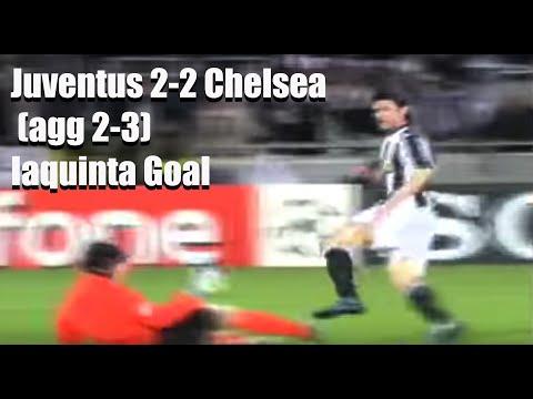 Juventus 2-2 Chelsea (agg 2-3): Iaquinta Goal