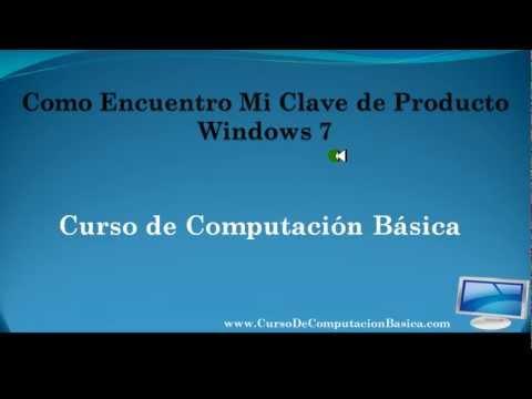 Como Ver Mi Clave de Producto Windows 7