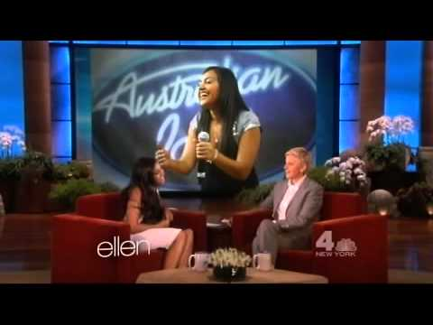 Jessica Mauboy on The Ellen Show