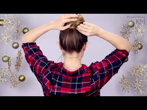 5 Quick and Easy Christmas Morning Hairstyles!